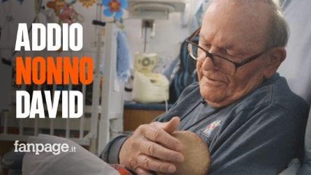 Addio nonno David, l'uomo che cullava e cantava ninne nanne ai bimbi prematuri in terapia intensiva