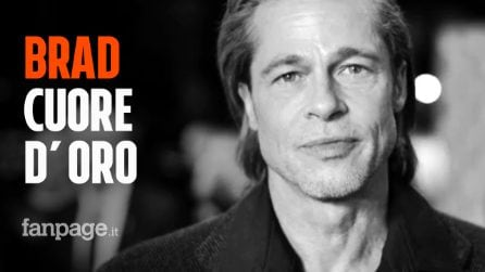 Brad Pitt consegna generi alimentari ai bisognosi di Los Angeles e nessuno lo riconosce