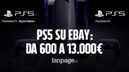 """PlayStation 5, ecco a che prezzi stanno rivendendo la console """"introvabile"""" su eBay"""