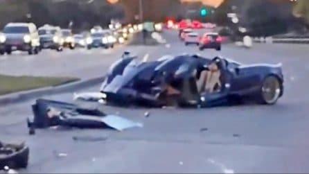 Youtuber 17enne distrugge l'auto del padre, una Pagani Huayra Roadster che vale 3,8 milioni di euro