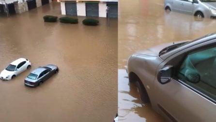 Crotone, Cirò Marina si risveglia completamente allagata: persone bloccate in auto