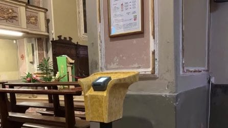 Cicognara, ecco la chiesa con il pos: offerte anche con carta di credito