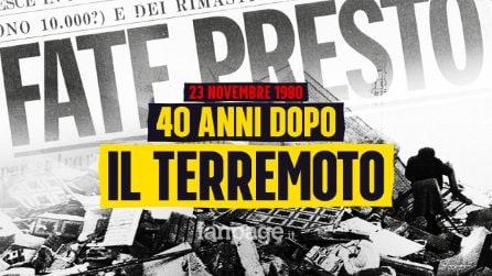 Quarant'anni dopo il terremoto d'Irpinia e Basilicata: 60mila miliardi spesi e territorio devastato