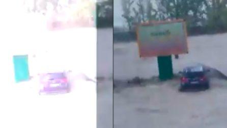 Crotone, fulmine potentissimo durante l'alluvione: nuove impressionanti immagini