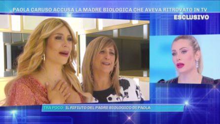 """Domenica Live - Paola Caruso sulla madre biologica: """"Ho scoperto delle cose"""""""