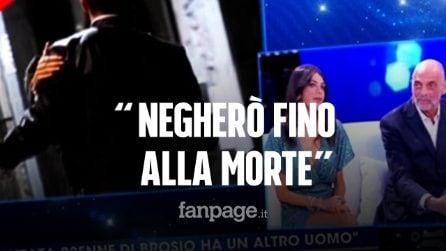 """Maria Laura De Vitis, fidanzata di Paolo Brosio, e il presunto tradimento: """"Negherò fino alla morte"""""""