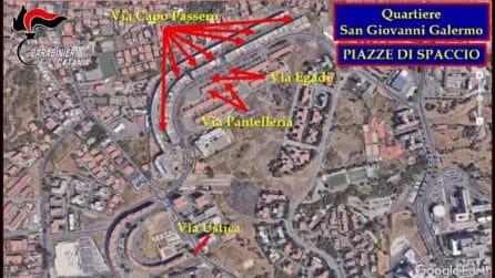 Mafia: blitz antidroga a Catania, colpi di kalashnikov mentre pusher spacciano