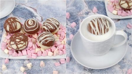 Hot chocolate balls: perfect for the holidays!