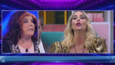 "GF Vip, Patrizia De Blanck contro Stefania Orlando: ""Sei una falsona"""