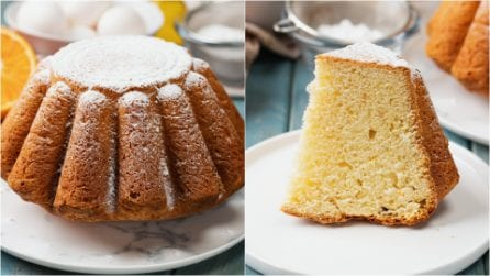 Pandoro cake: a fluffy and delicious cake ready in no-time!
