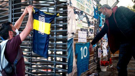 Napoli come Buenos Aires, il tributo di due città unite dall'amore per Diego Armando Maradona