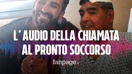 La drammatica telefonata al pronto soccorso del medico di Maradona