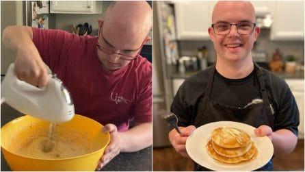 Jeremy, lo chef con la sindrome di Down che sfida i pregiudizi con la passione per la cucina