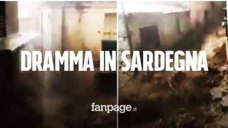 Sardegna, tragedia per il maltempo: 3 morti e un disperso, famiglie evacuate