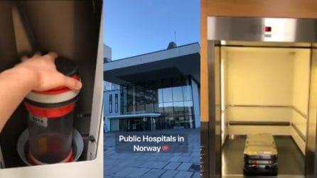 Il futuro è tutto qui: sembra fantascienza ma è un ospedale pubblico in Norvegia