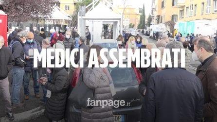 File, camper, assembramenti: a Roma i medici votano il loro presidente
