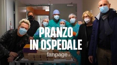 Pranzo della domenica per medici e infermieri: Dj Ringo e chef La Mantia testimonial dell'iniziativa