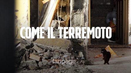 """Tromba d'aria a Catania. Gli abitanti: """"In 60 anni mai visto niente di simile, è stato un uragano"""""""