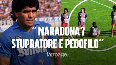 """Giocatrice rifiuta il minuto di silenzio per Maradona: """"Ecco perché ho girato le spalle!"""""""