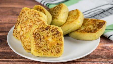 Quadratini soffici di patate in padella: perfetti per una cena deliziosa pronta in pochi minuti!