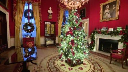 """America the Beautiful"", decorazioni di Natale alla Casa bianca"