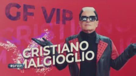 Grande Fratello VIP, la clip di presentazione di Cristiano Malgioglio