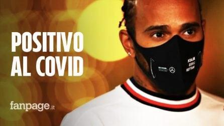 """Lewis Hamilton positivo al coronavirus: """"Sintomi lievi e attualmente si trova in isolamento"""""""