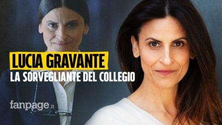 """Lucia Gravante: """"Al Collegio sono sorvegliante per 16 ore al giorno, recito ma non fingo"""""""