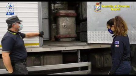 Traffico di rifiuti da Napoli all'Africa, maxi-sequestro a Nola