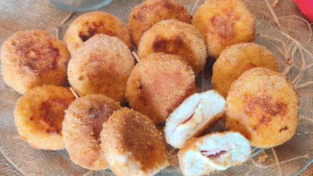 Mini cordon bleu filanti: la ricetta che piacerà a grandi e piccoli