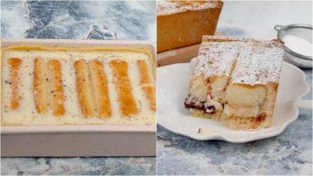 Torta cremosa di savoiardi: il dolce facile e veloce da preparare!