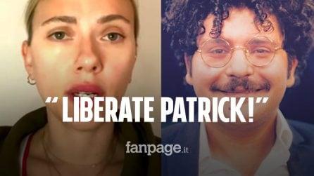 """Scarlett Johansson chiede la liberazione immediata di Zaki: """"Vittima di torture in Egitto"""""""