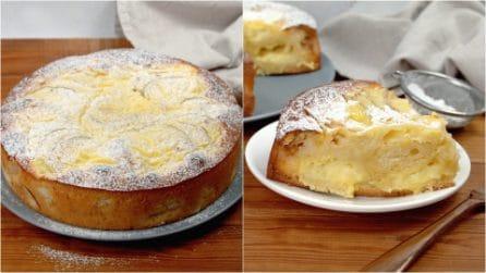 Torta nua alle mele: il dolce soffice e cremoso che piacerà a tutta la famiglia!