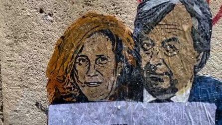 Burioni e Capua protagonisti della nuova opera di TvBoy a Roma