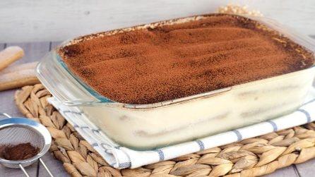 Tiramisù, la ricetta del goloso dessert che non delude mai