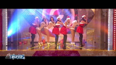 Grande Fratello VIP - Il balletto natalizio delle Vip