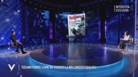 Tiziano Ferro a Verissimo racconta il suo coming-out