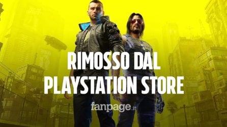 """Cyberpunk 2077 rimosso dal PlayStation Store, Sony: """"Offriremo un rimborso totale"""""""