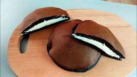 Dorayaki al cacao ripieni: la ricette del dolce goloso e semplice da preparare