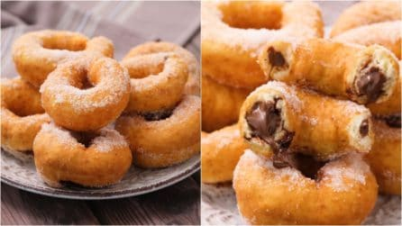Chocolate filled donut recipe: both grown-ups and kids are gonna love this!