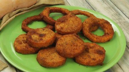 Zucca fritta: come ottenerla croccante fuori e morbida dentro!