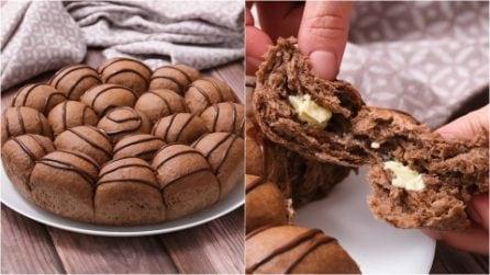 Chocolate Italian danubio: the easy recipe to make the fluffiest brioche on the earth!