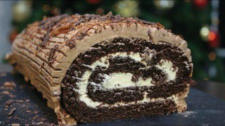 Rotolo di Natale al cioccolato: la ricetta deliziosa che conquisterà tutti