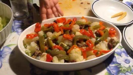 Insalata di rinforzo: la ricetta del contorno saporito e semplice da preparare