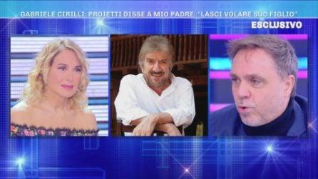 """Gabriele Cirilli a Domenica Live: """"Gigi Proietti è stato il mio secondo papà"""""""