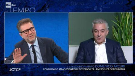 """Fabio Fazio: """"Mi offro volontario per il vaccino"""