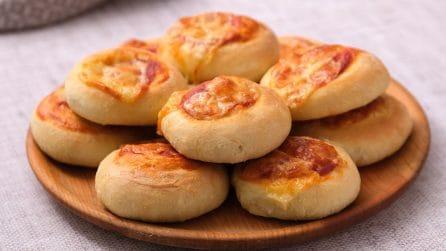 Pizzette danubio: la ricetta per farle soffici e saporite!