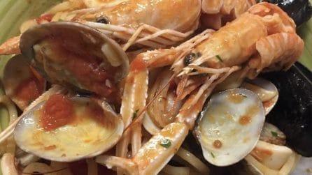 Spaghetti allo scoglio: la ricetta del primo piatto saporito