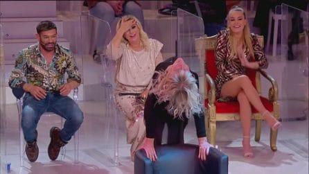 Uomini e Donne, Gemma Galgani balla Flashdance