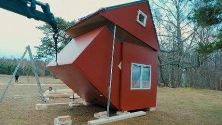 La casa pieghevole: si monta in poche ore e si può spostare